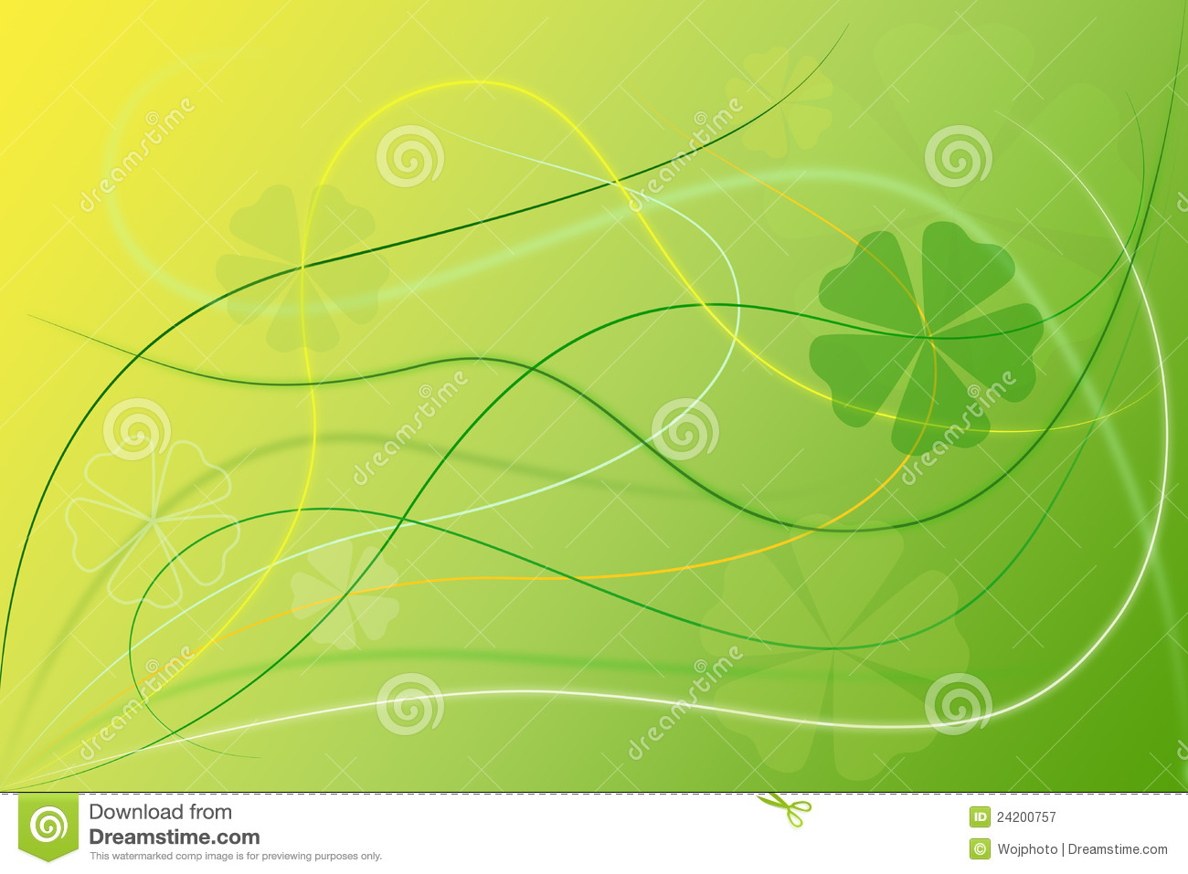 Abstract Sports Background Royalty Free Stock Image: Abstract Green Floral Background Wallpaper Royalty Free
