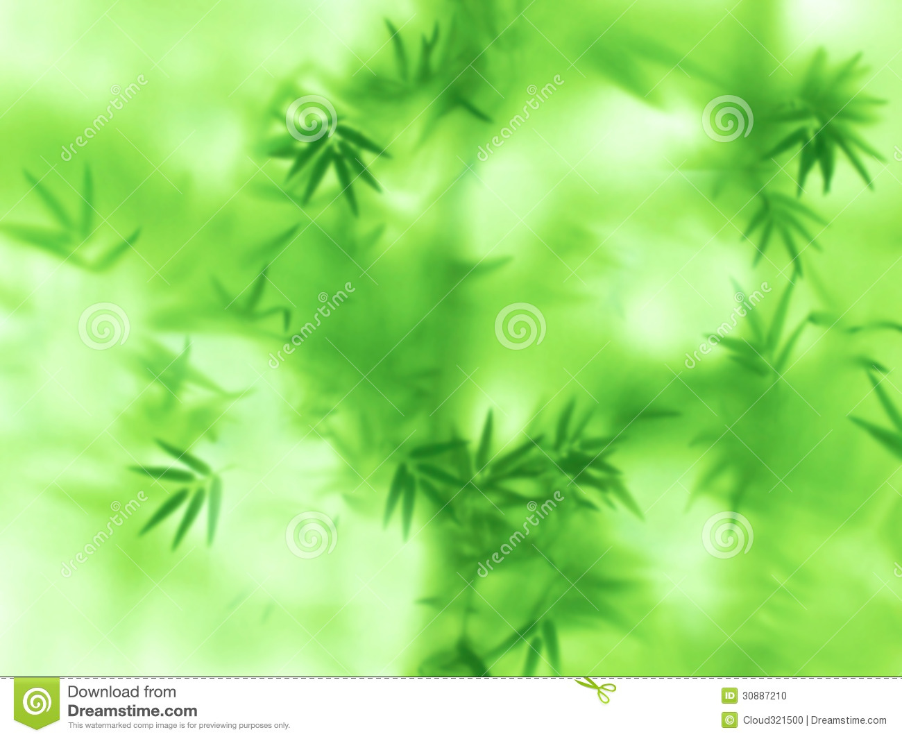 Abstract Green Natural Background Stock Photo  Image