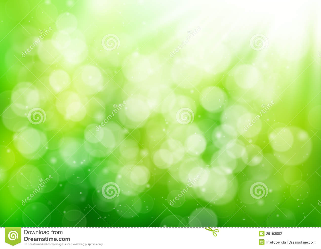 Stock Photo: Abstract green nature background. Image: