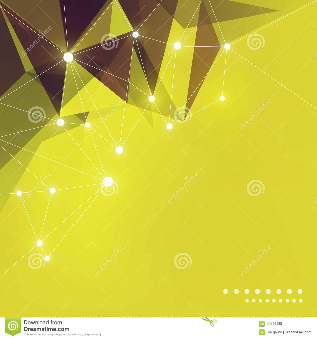 Abstract Green Polygon Background. Business Banner Stock Vector ... for Banner Background Vector High Resolution  83fiz