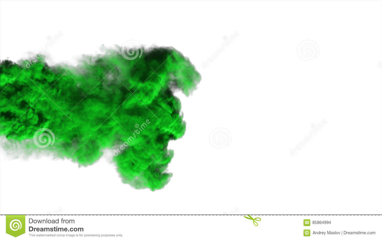 Download Abstract Green Smoke On White Background Stock Photo - Image of black, abstract: 85864994