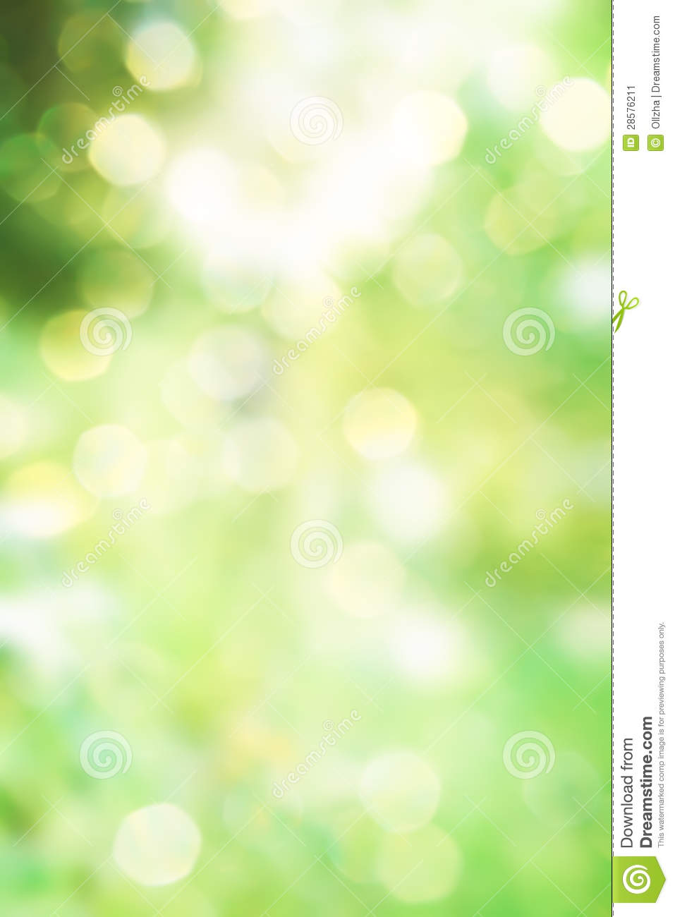 Nature Images 2mb: Abstract Green Spring Nature Background Stock Image