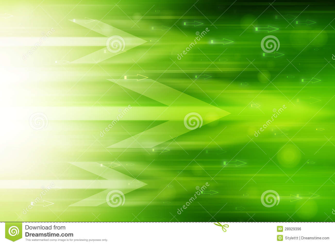 Abstract Green Technology Background Royalty Free Stock