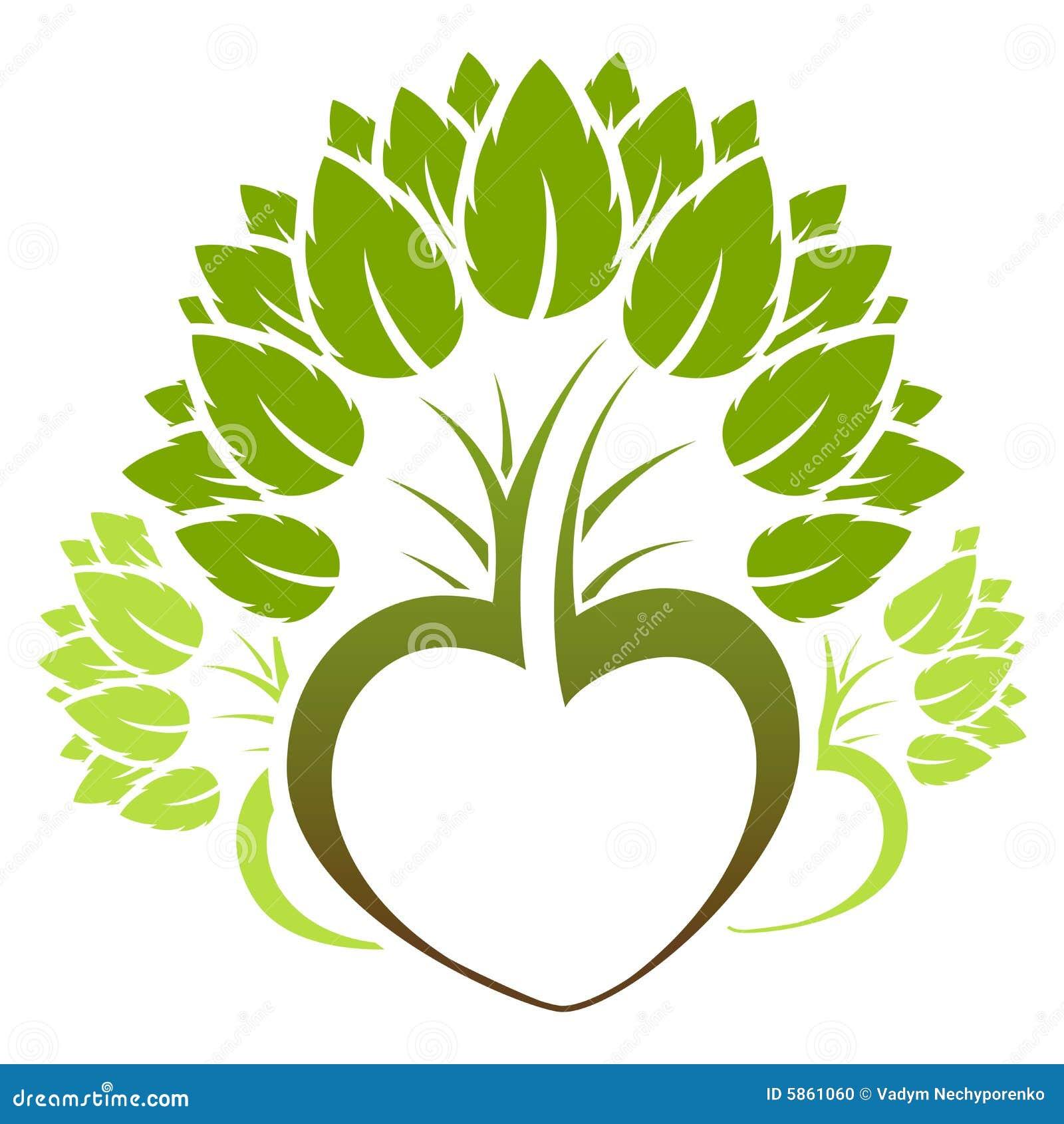 Abstract Green Tree Icon Logo Stock Vector - Illustration of health ...