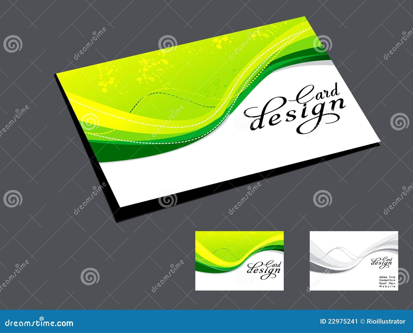 Green Business Cardsalexabusinesscardprinting Com