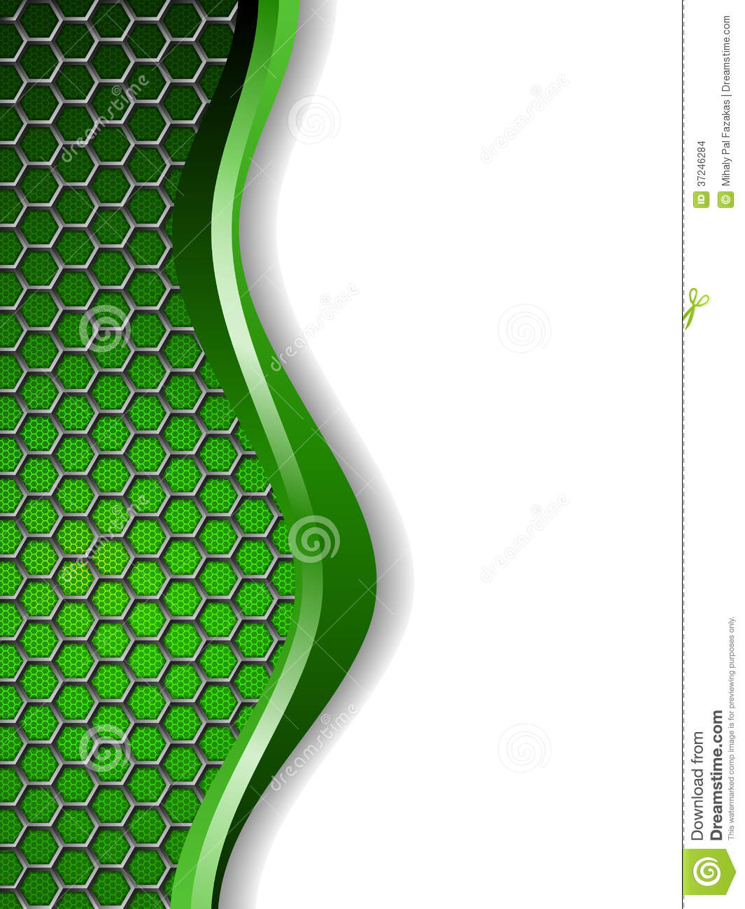 abstract green white background stock images image 37246284