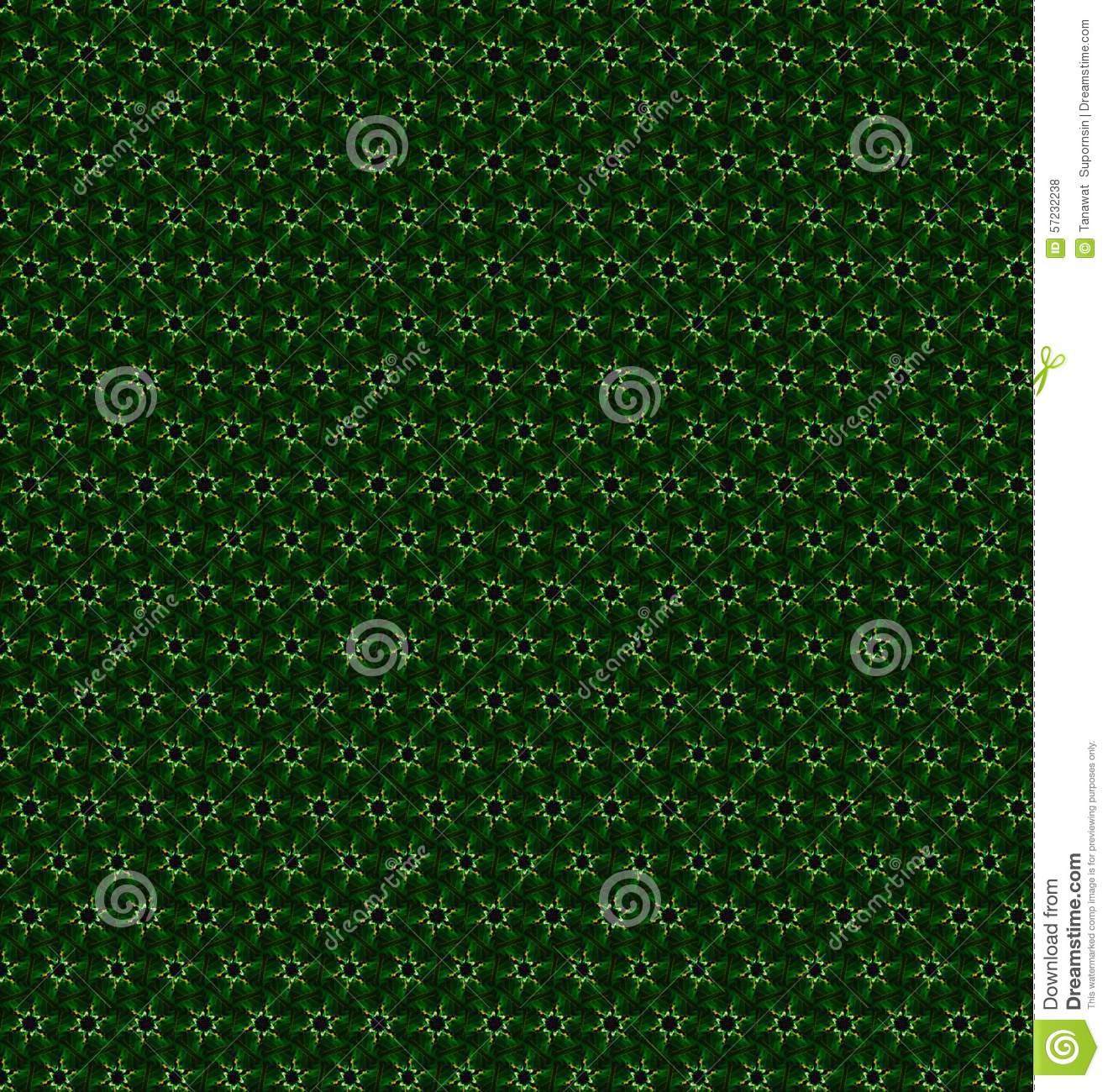 Abstract Green And White Color Pattern Wallpaper. Stock