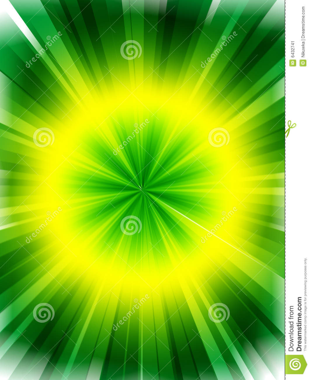 Abstract Green Yellow Background Stock Illustration ...