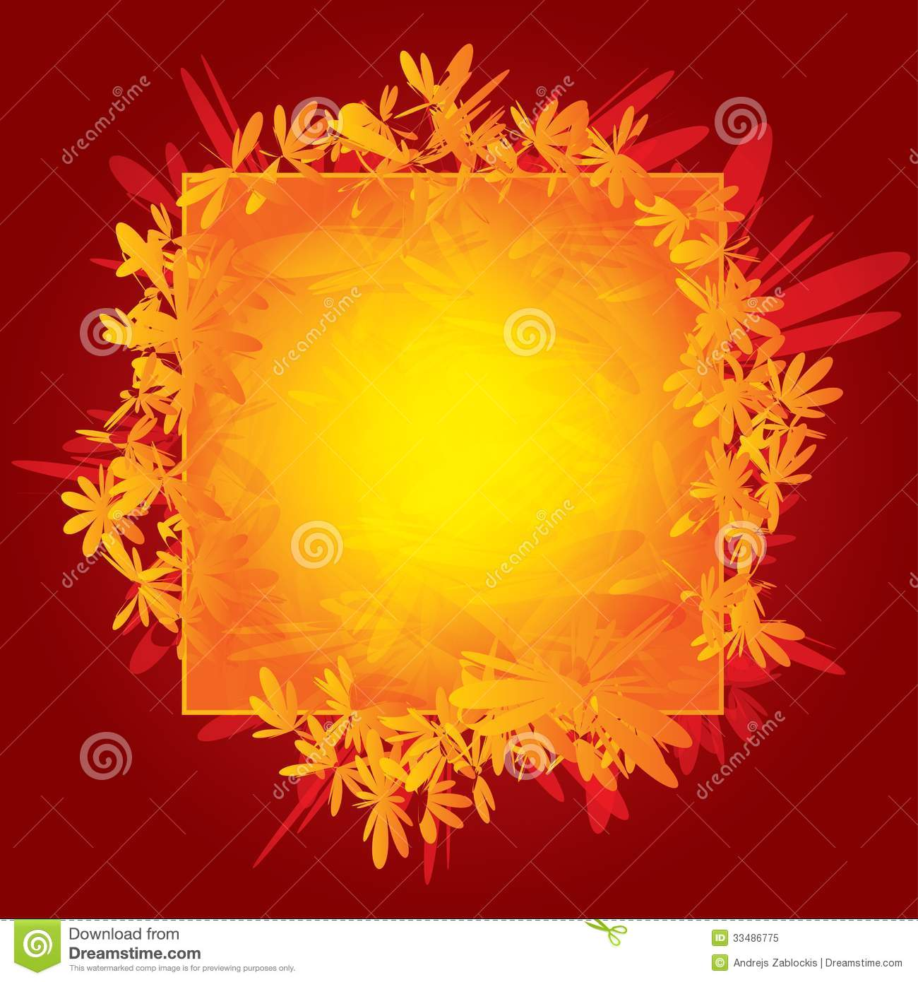 Abstract Greeting Card For Design Template Royalty Free
