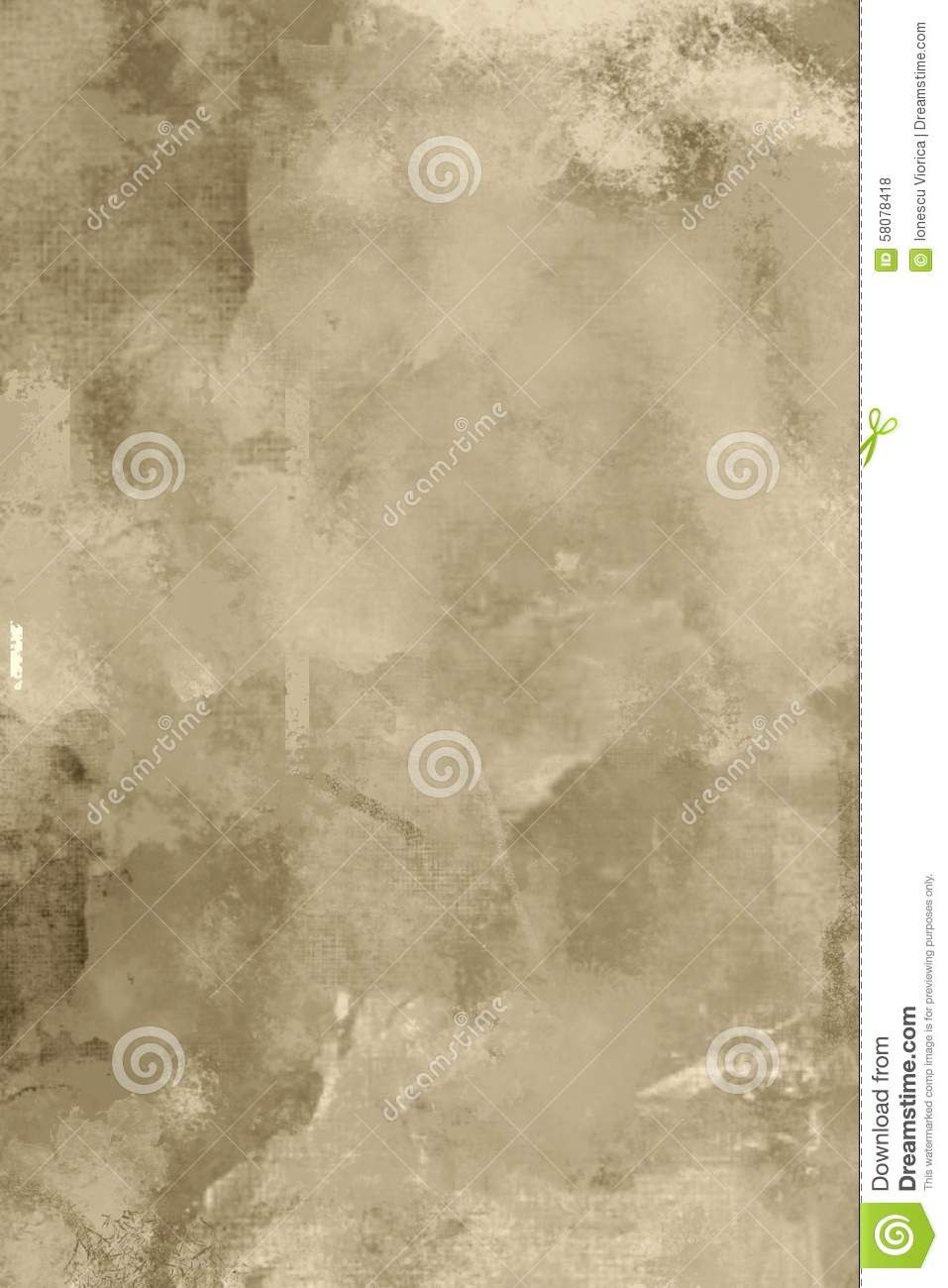 Abstract Grey Background Old Sepia Texture Stock
