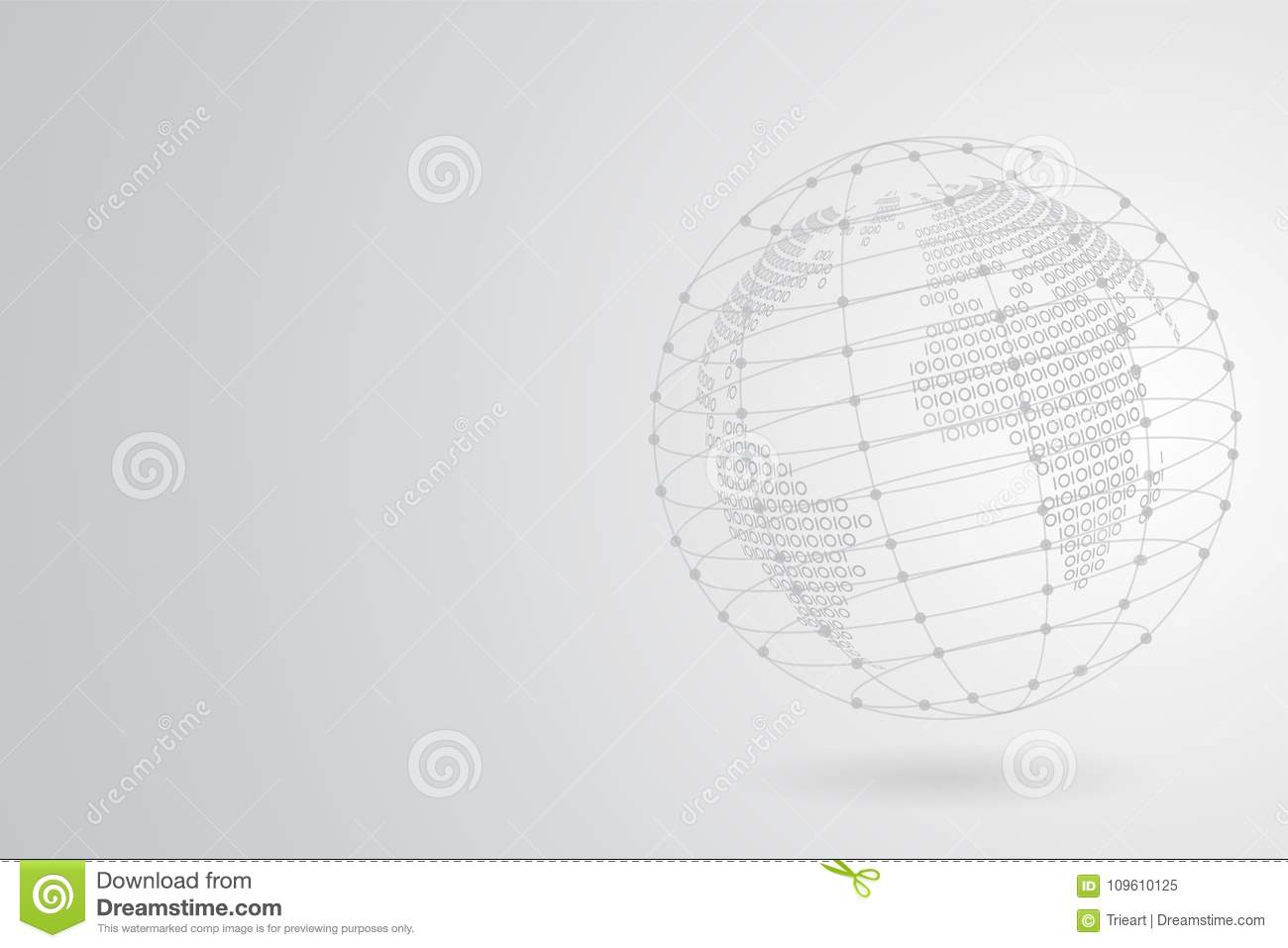 Abstract grey binary world map with polygonal space background with download abstract grey binary world map with polygonal space background with connecting dots and lines stock gumiabroncs Images