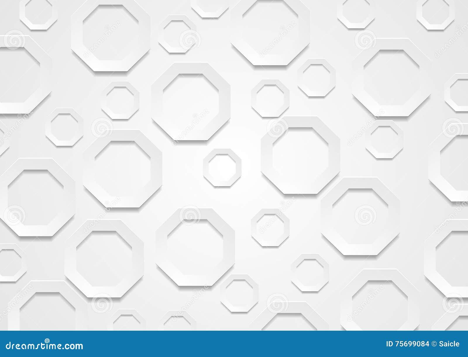 abstract geometric octagon shape - photo #35