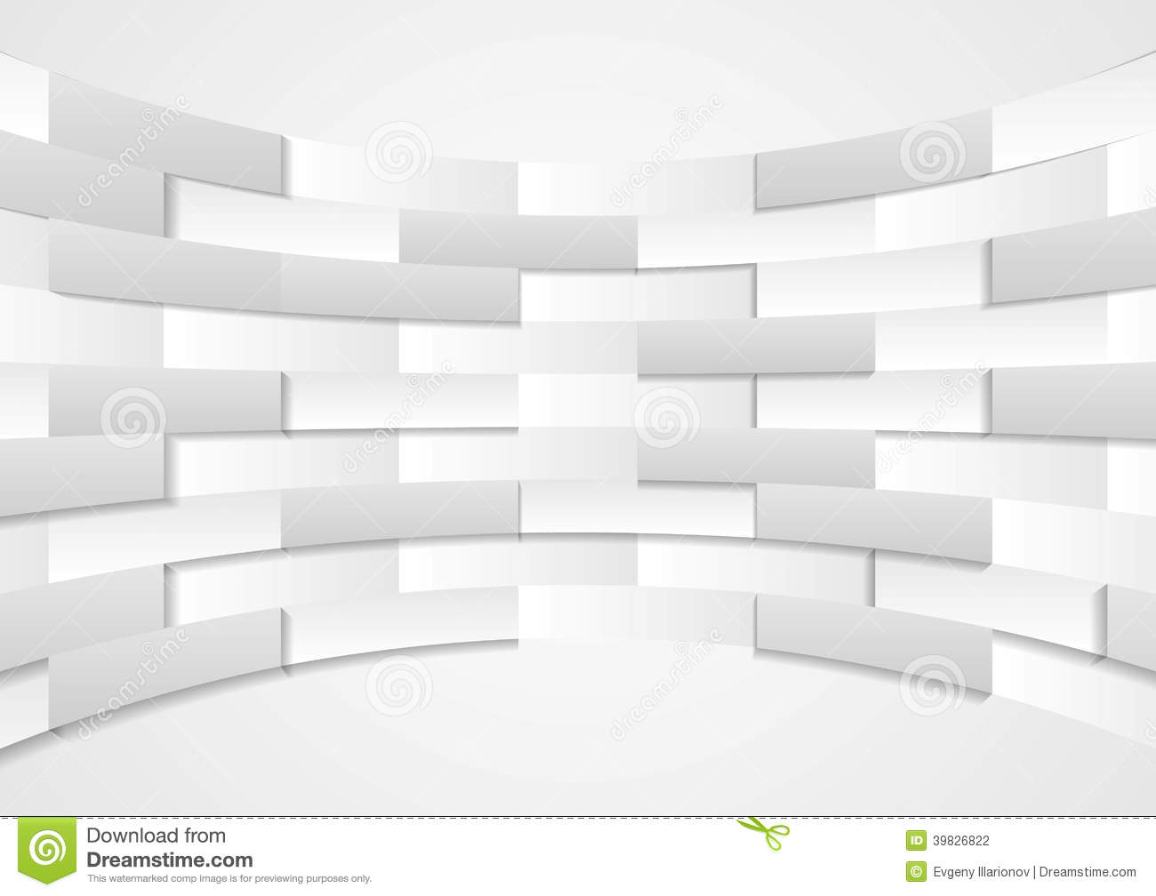 Abstract Grey Technical Background Stock Vector