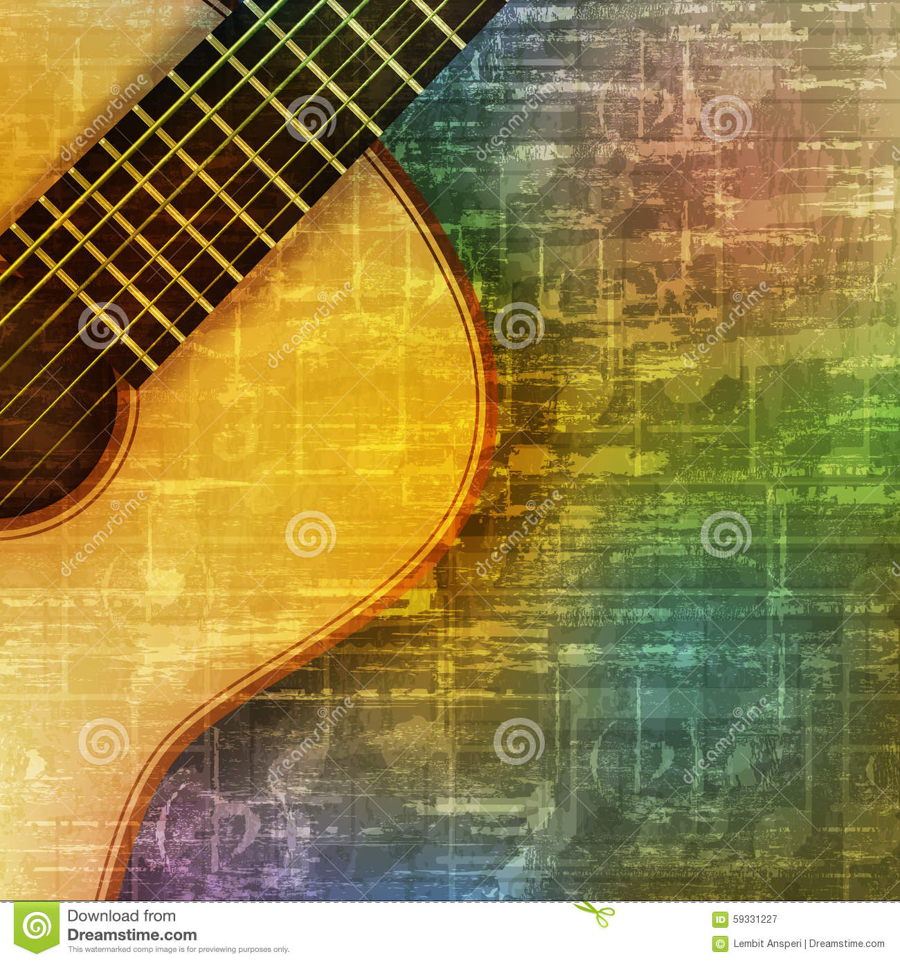 music time guitar abstract - photo #38