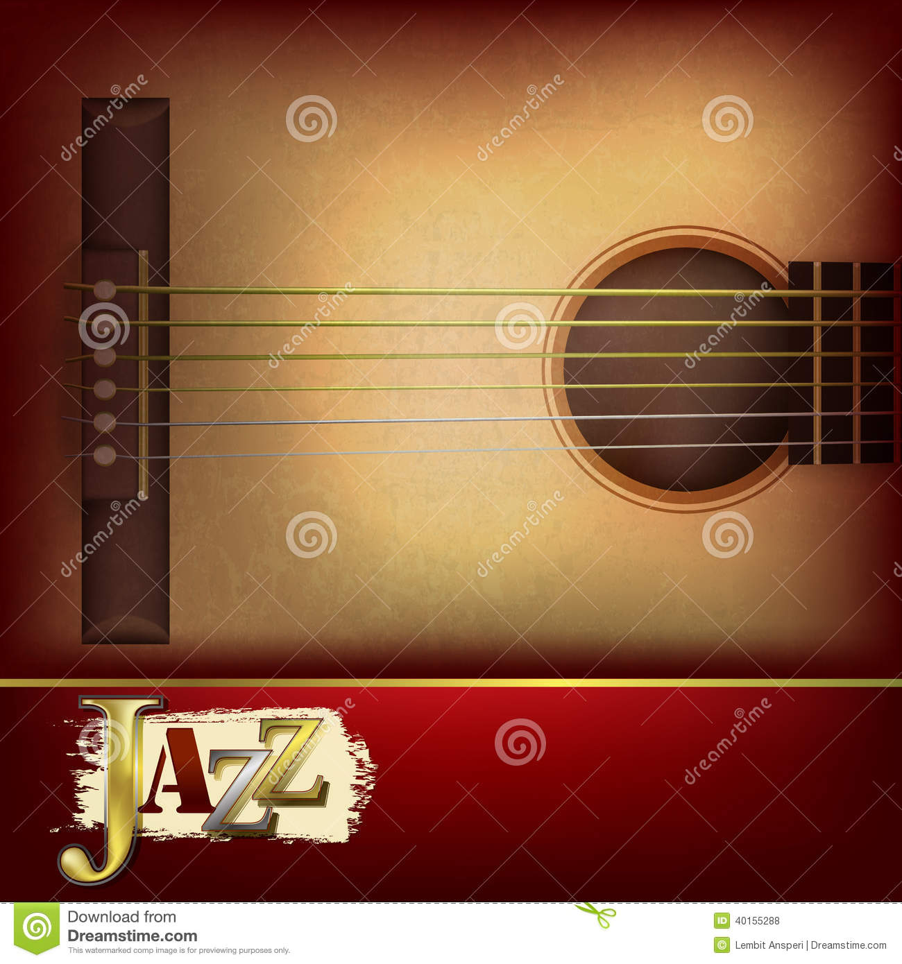 music time guitar abstract - photo #11