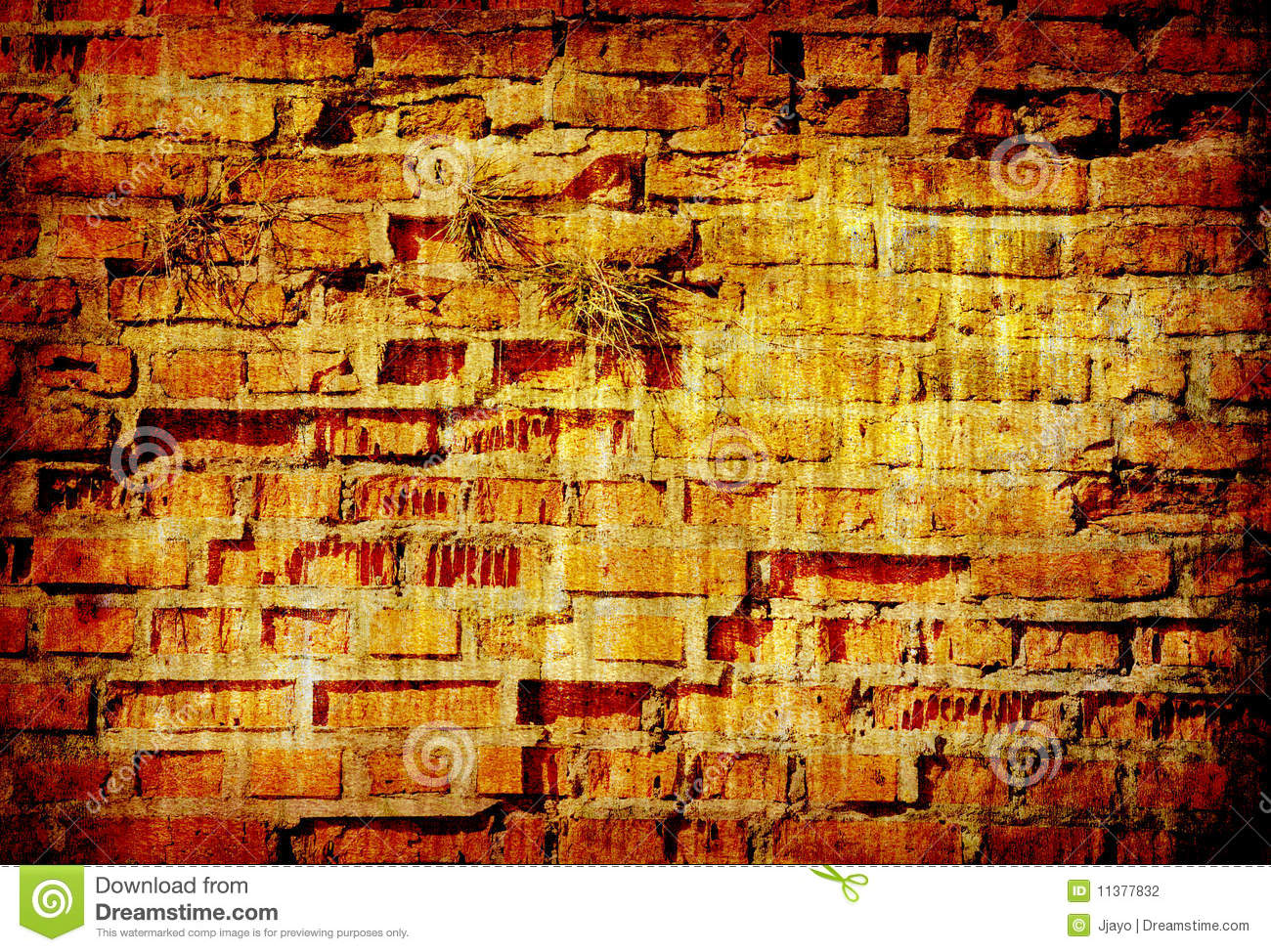 Abstract Grunge Background Texture Of Brick Wall Stock ...
