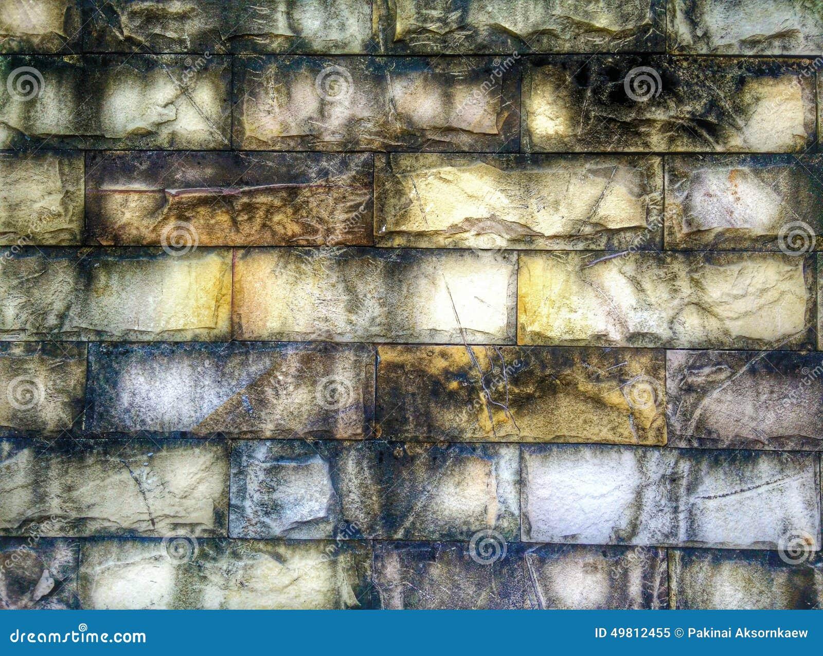 Abstract grunge brick pattern