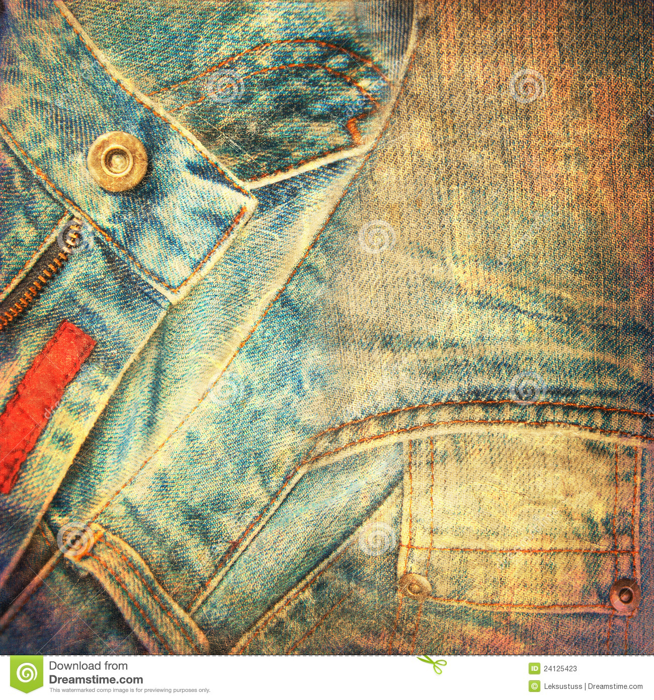 54226ca4d425 Abstract grunge jeans background stock illustration jpg 1300x1390 Abstract  denim background