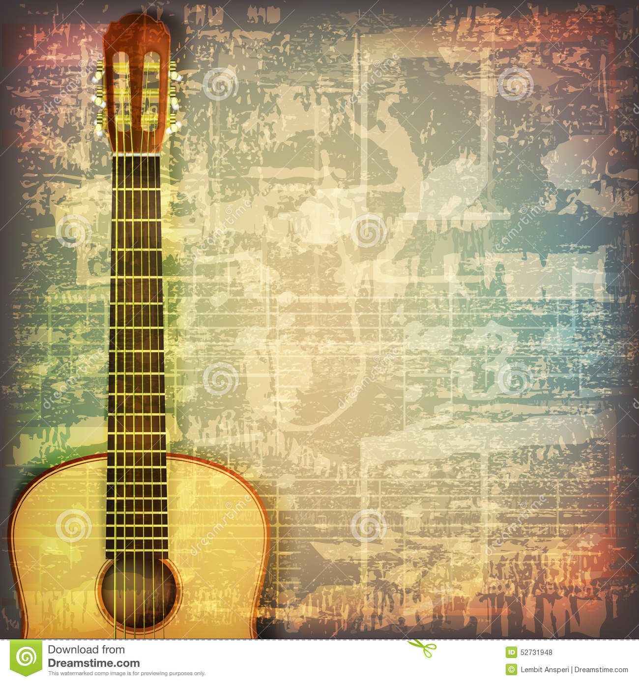 acoustic background music