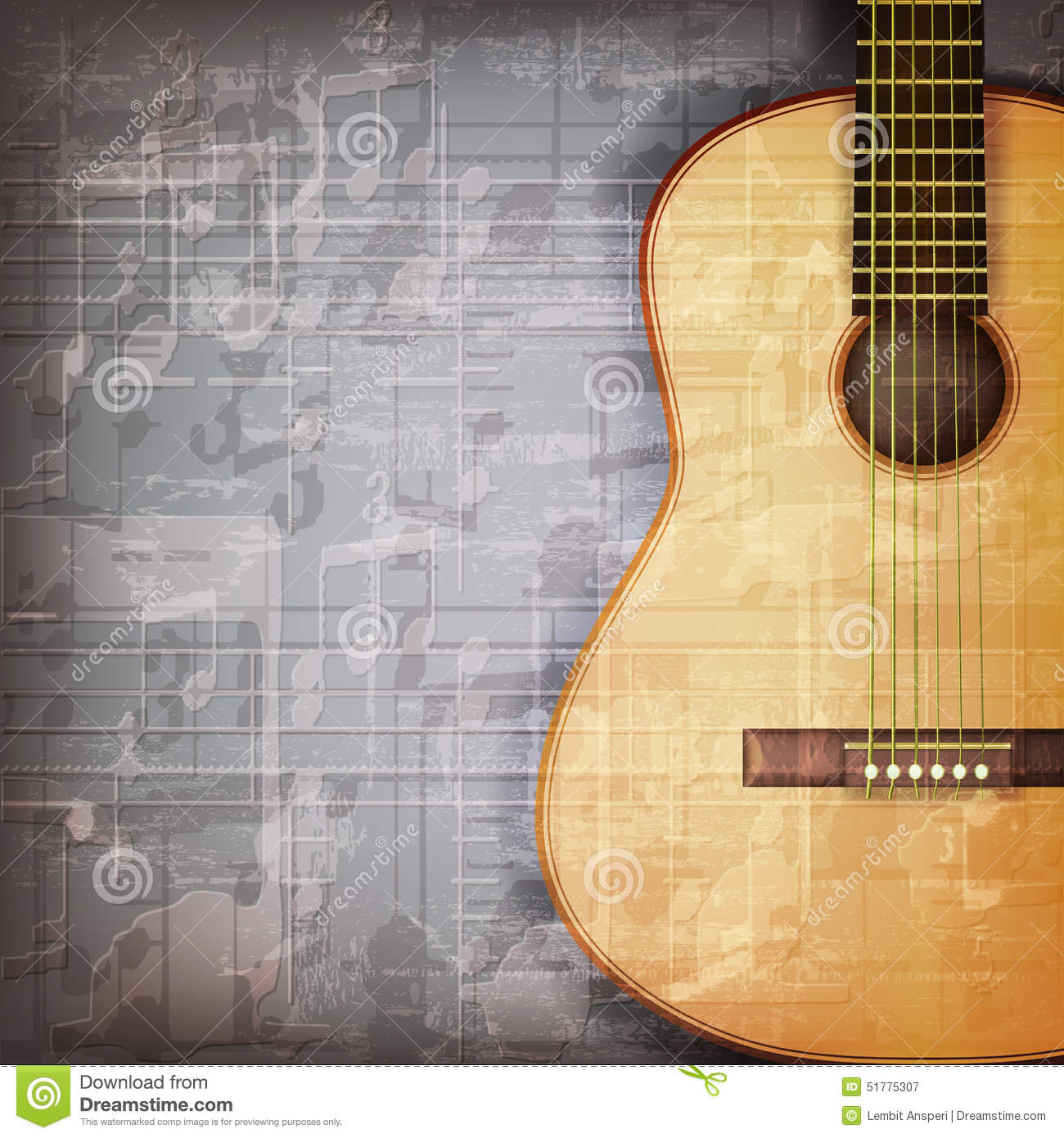 music time guitar abstract - photo #24