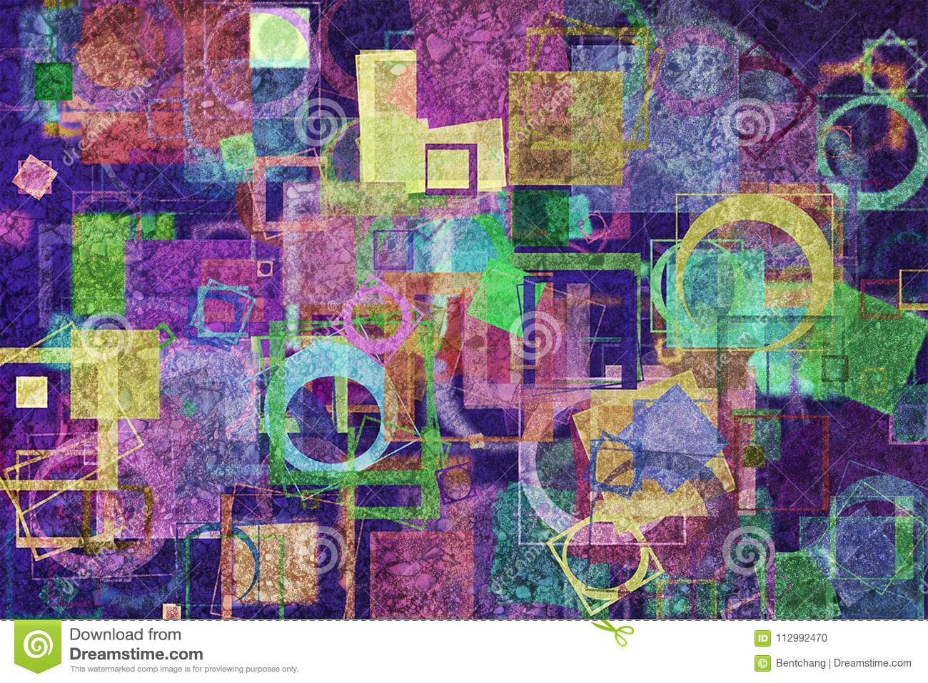 Abstract pattern shape, for graphic design, artistic. Details, color, repeat & generative.