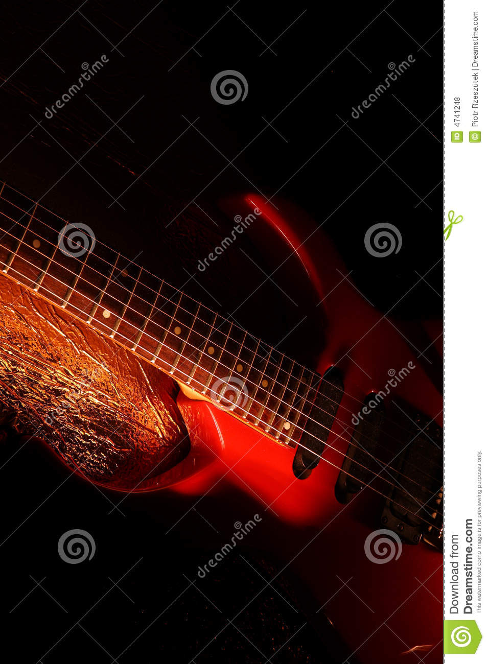 music time guitar abstract - photo #1