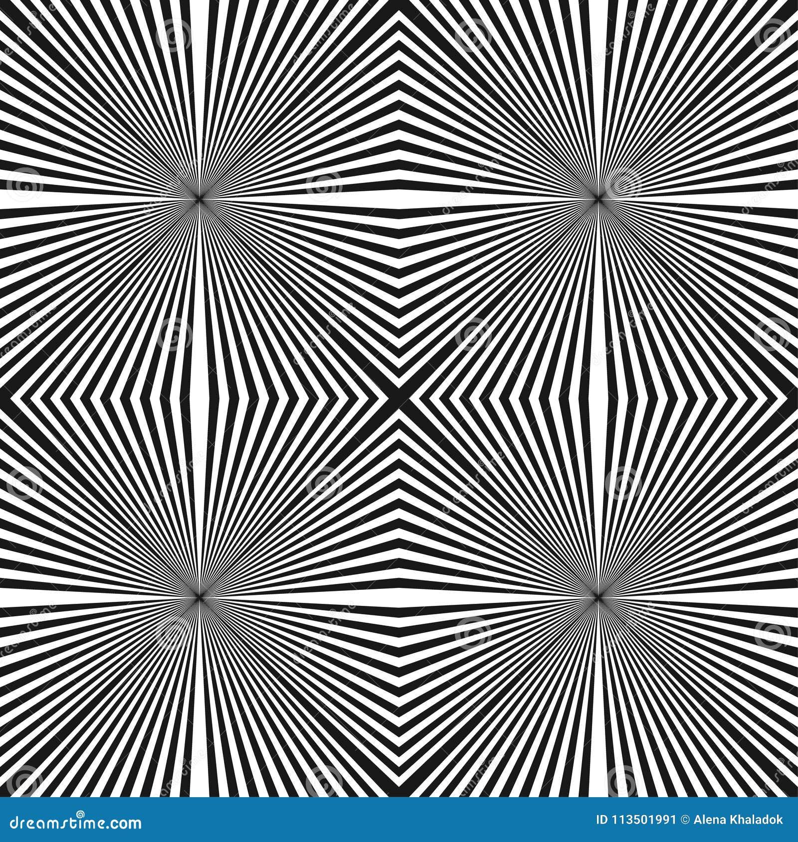 Abstract halftone lijnen geometrisch naadloos patroon