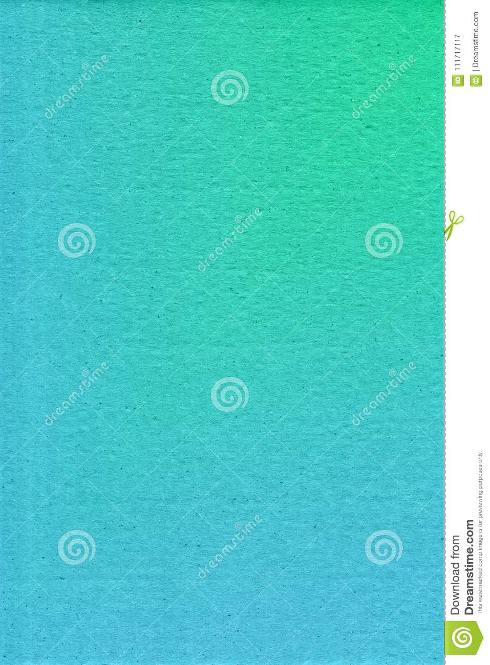 Abstract hand drawn green watercolor background, raster illustration
