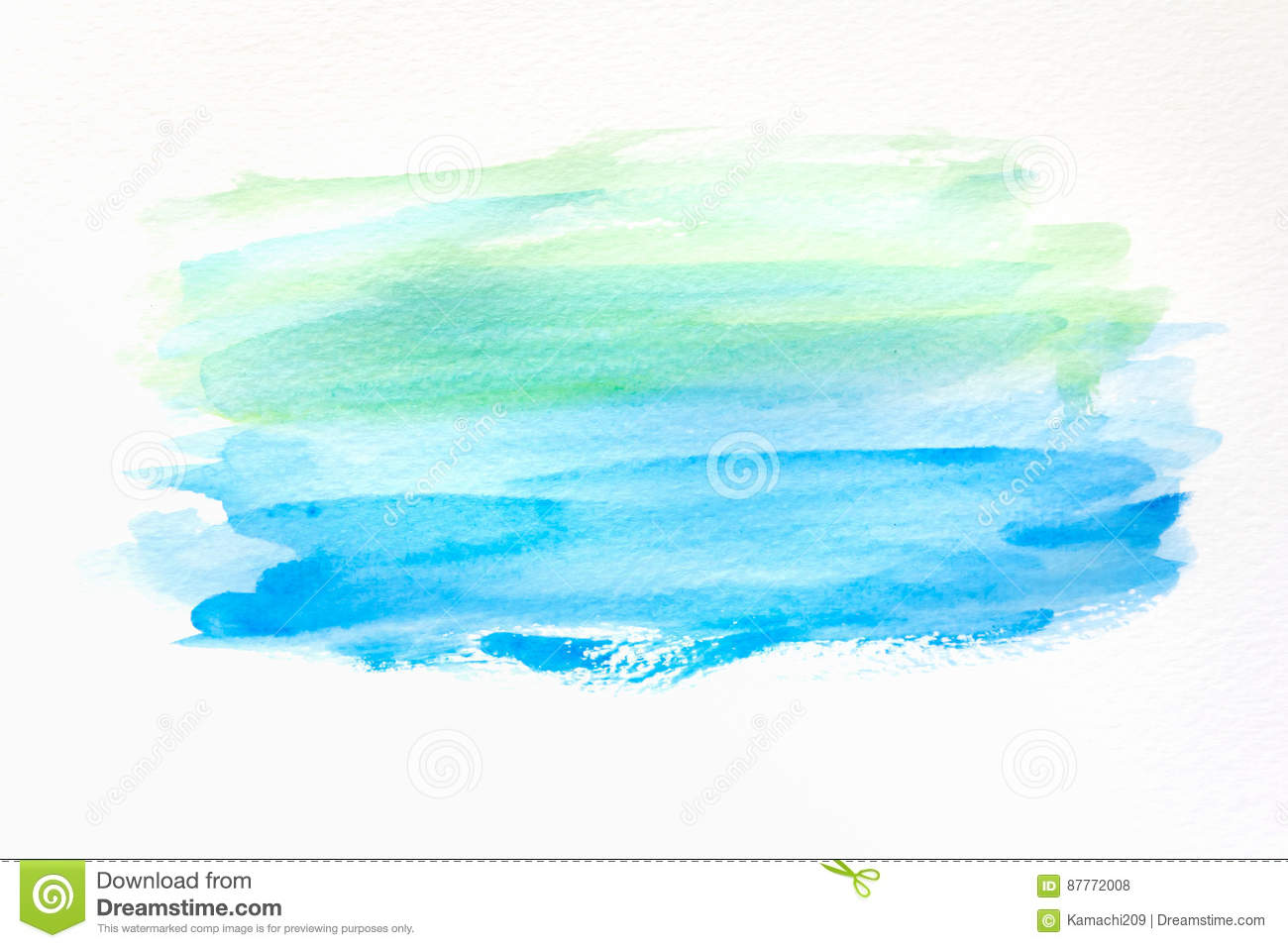 Abstract hand painted watercolor background on paper. texture for creative wallpaper or design artwork