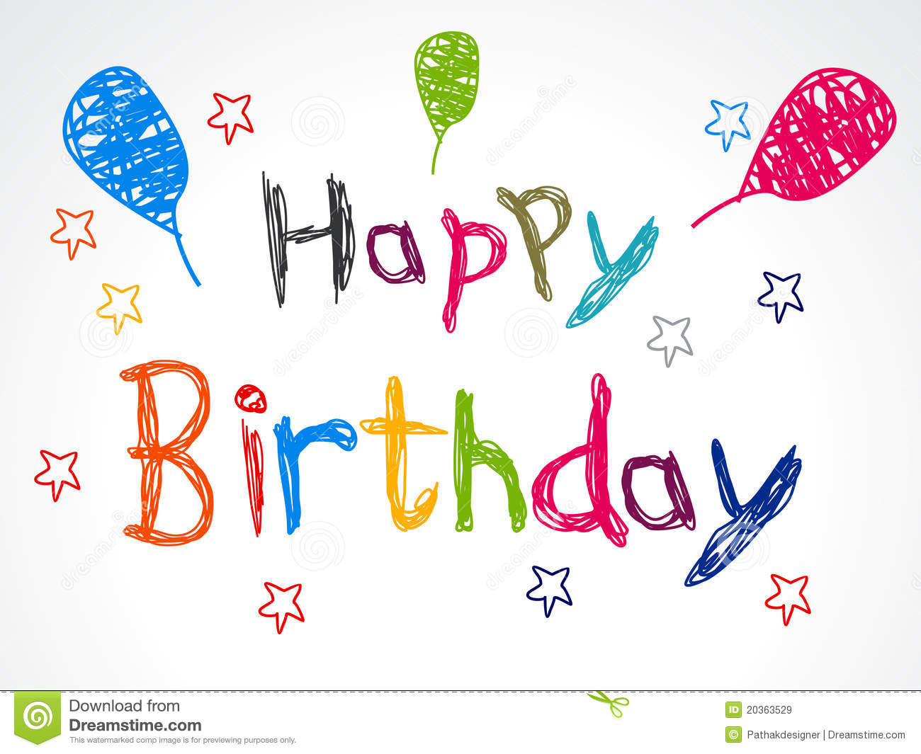 Royalty Free Birthday Images ~ Abstract happy birthday concept royalty free stock images image