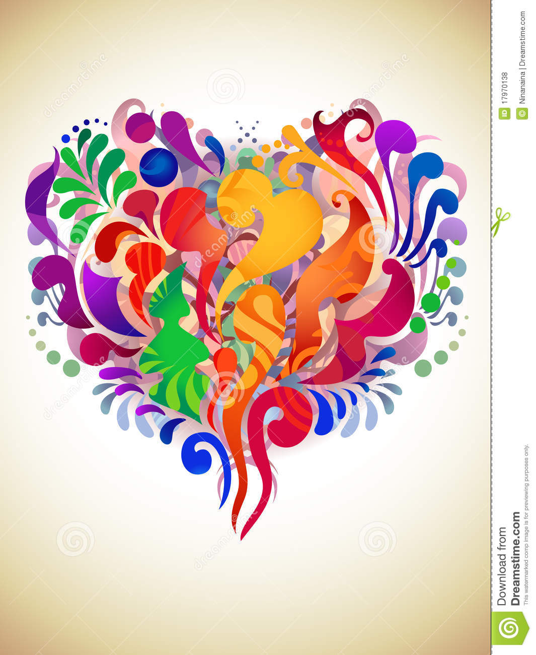 Abstract Heart Royalty Free Stock Photos - Image: 17970138