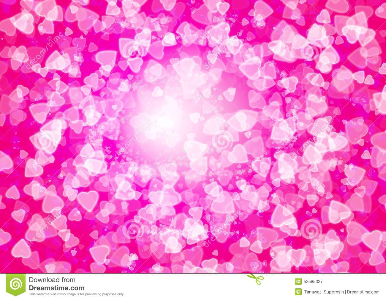Blur Pink White Pastel Hearts Love Stock Illustration 426220507 ...