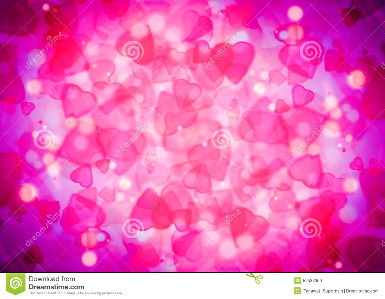 abstract heart pink purple bokeh wallpaper stock