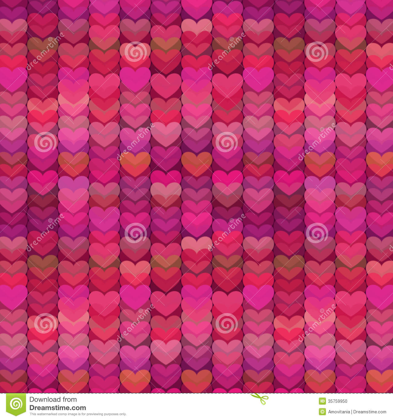 abstract hearts background in rich shades of pink stock vector image 35759950. Black Bedroom Furniture Sets. Home Design Ideas