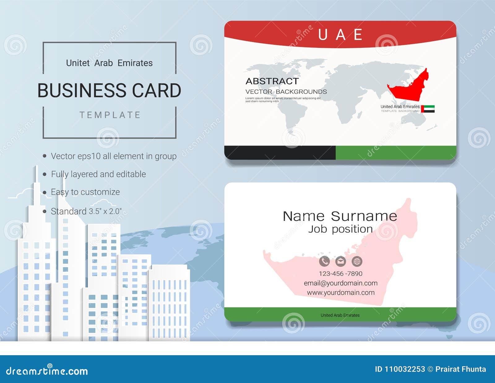 Abstract het adreskaartje van de V.A.E of van de naamkaart malplaatje