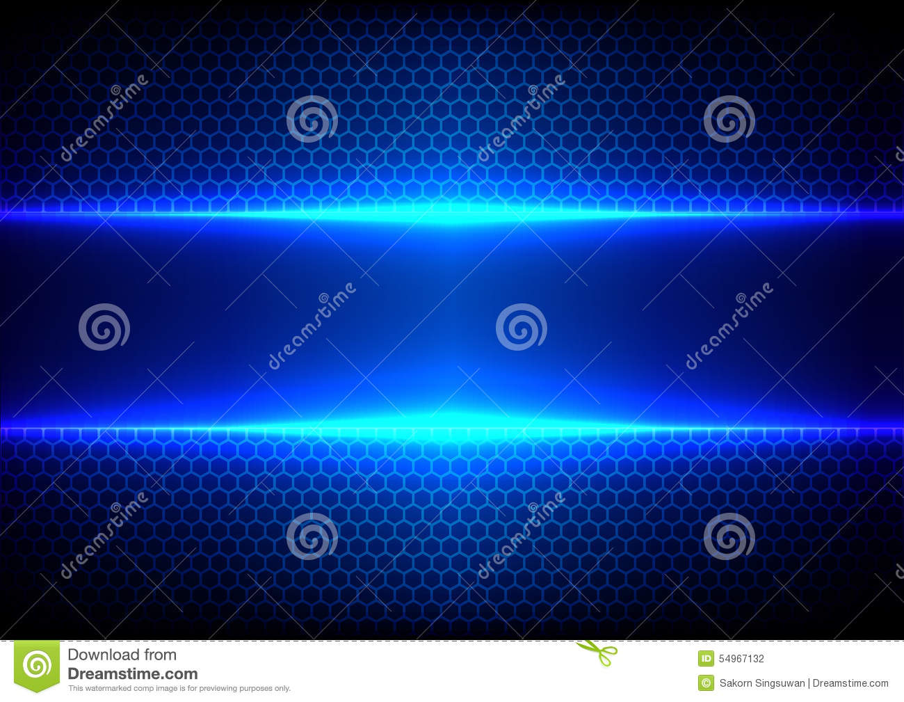 Abstract Technology Background With Light Effect: Abstract Hex Light Blue Effect Blue Technology Stock