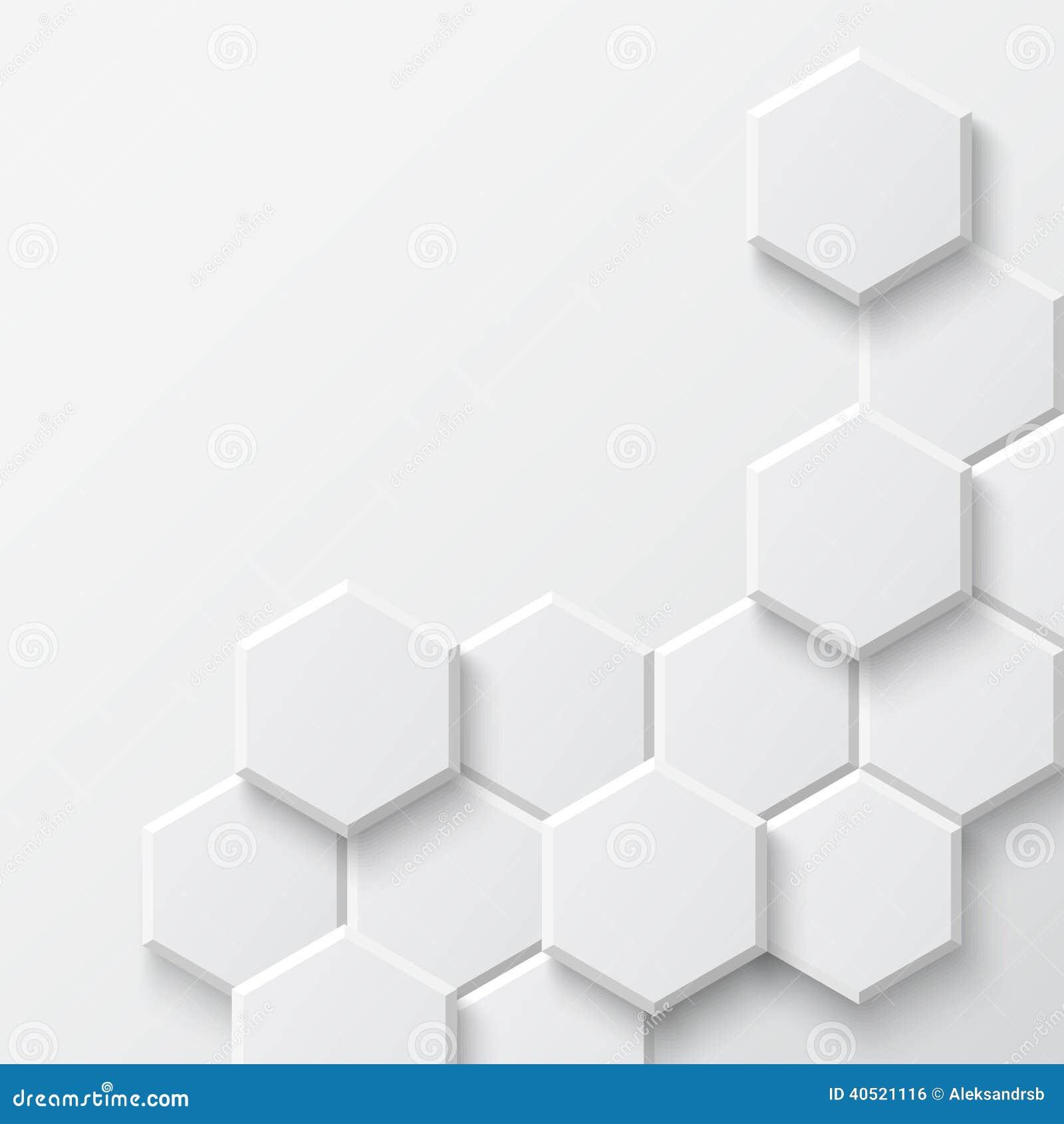 Abstract Hexagonal Background Stock Vector Image 40521116