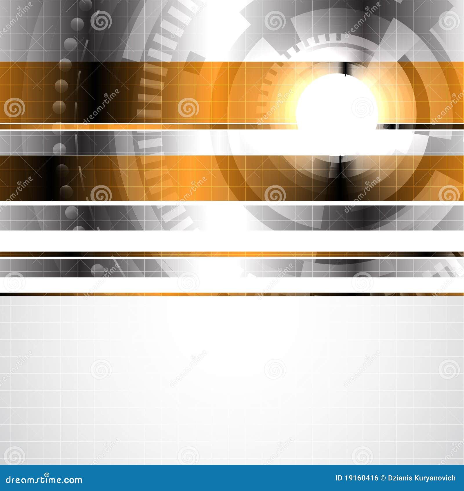 Abstract Hi-tech Background Stock Vector
