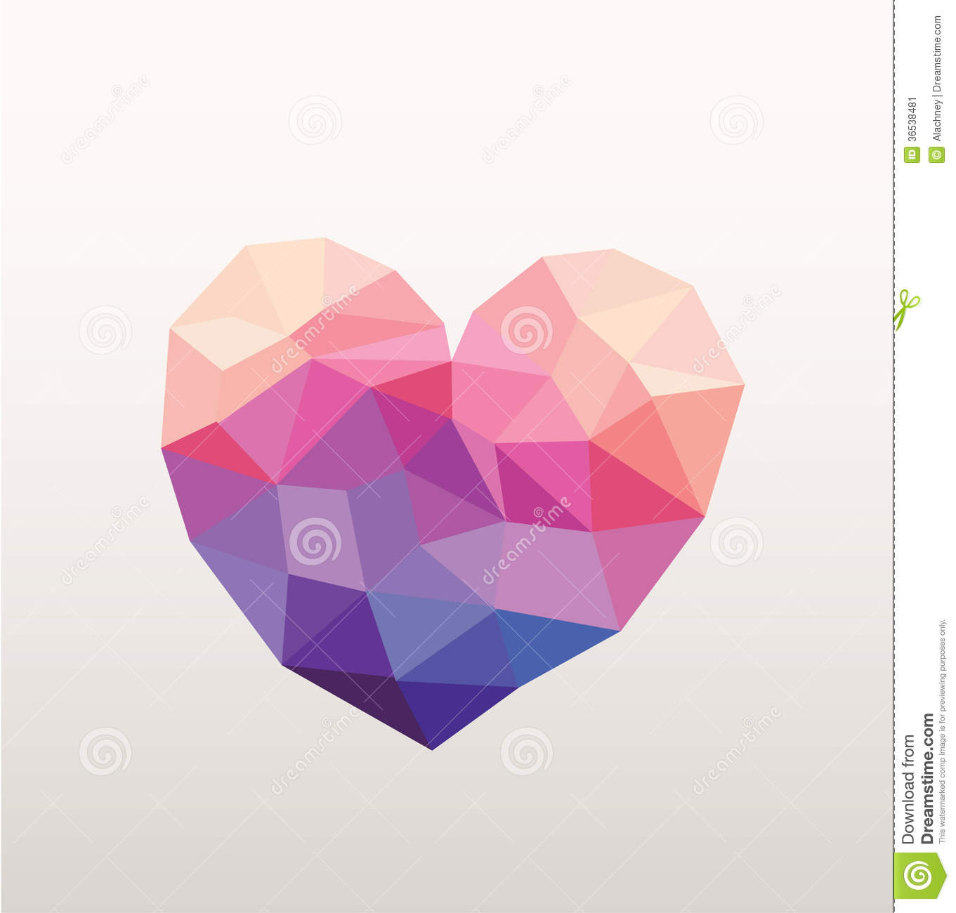 Abstract Hipster Heart Stock Image Image 36538481