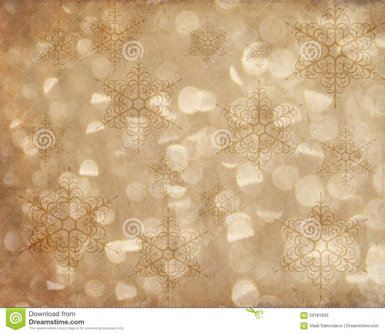 abstract holiday snowflake background texture stock illustration