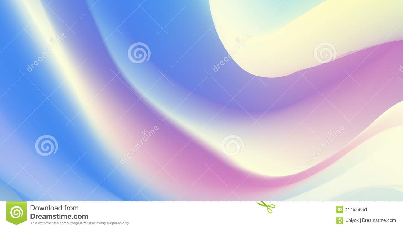 Abstract holographic backdrop 80s, bright colorful background. Trendy colorful holographic wallpaper in pastel neon