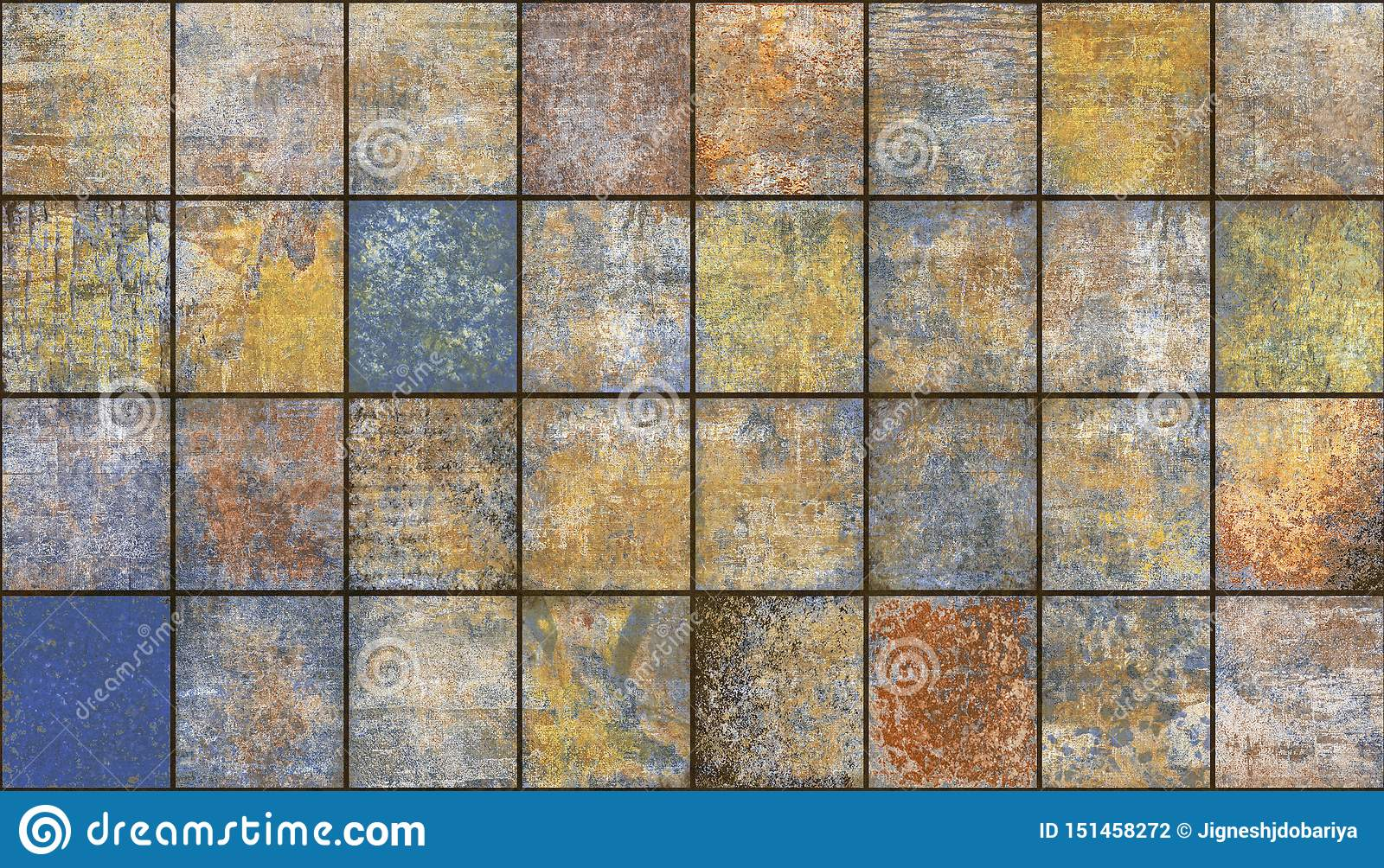 Abstract Home Decorative Wall Tiles Pattern Design Background Interior Decorative Design Wall Tiles Decor For Kitchen Stock Photo Image Of Grunge Architecture 151458272