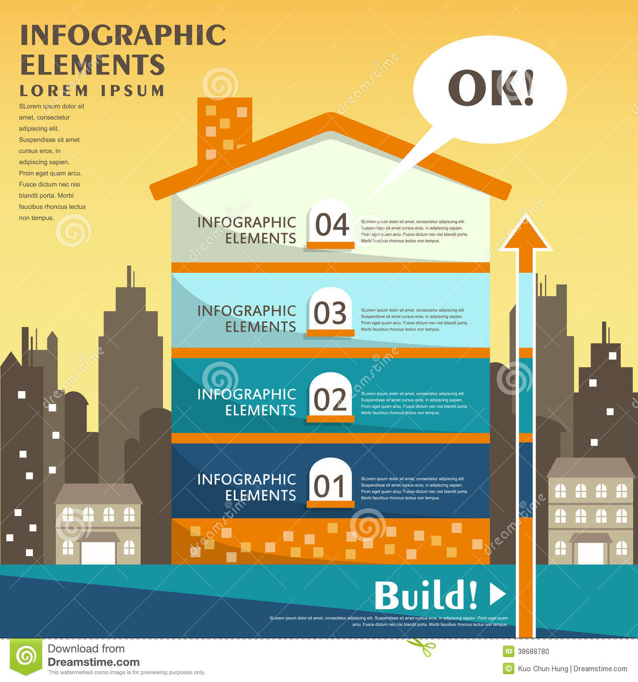 abstract-house-infog