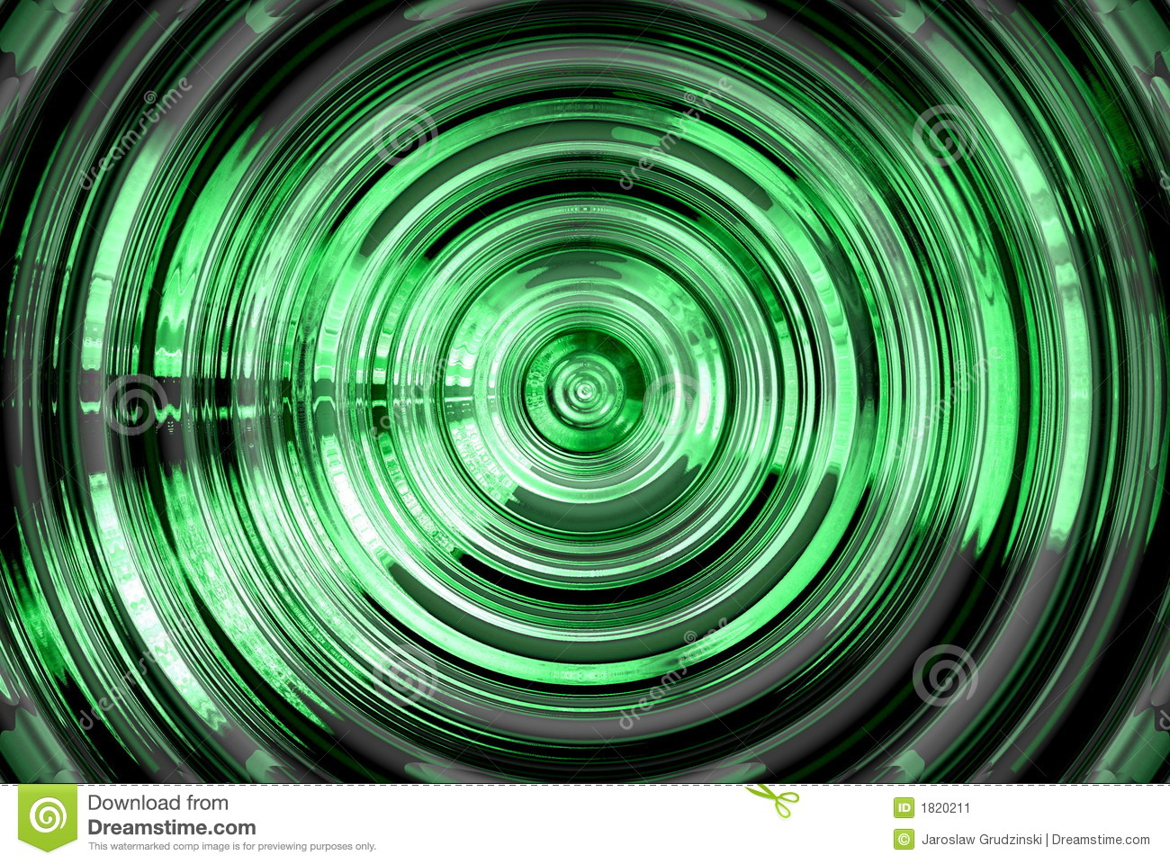 Abstract hypnotic background