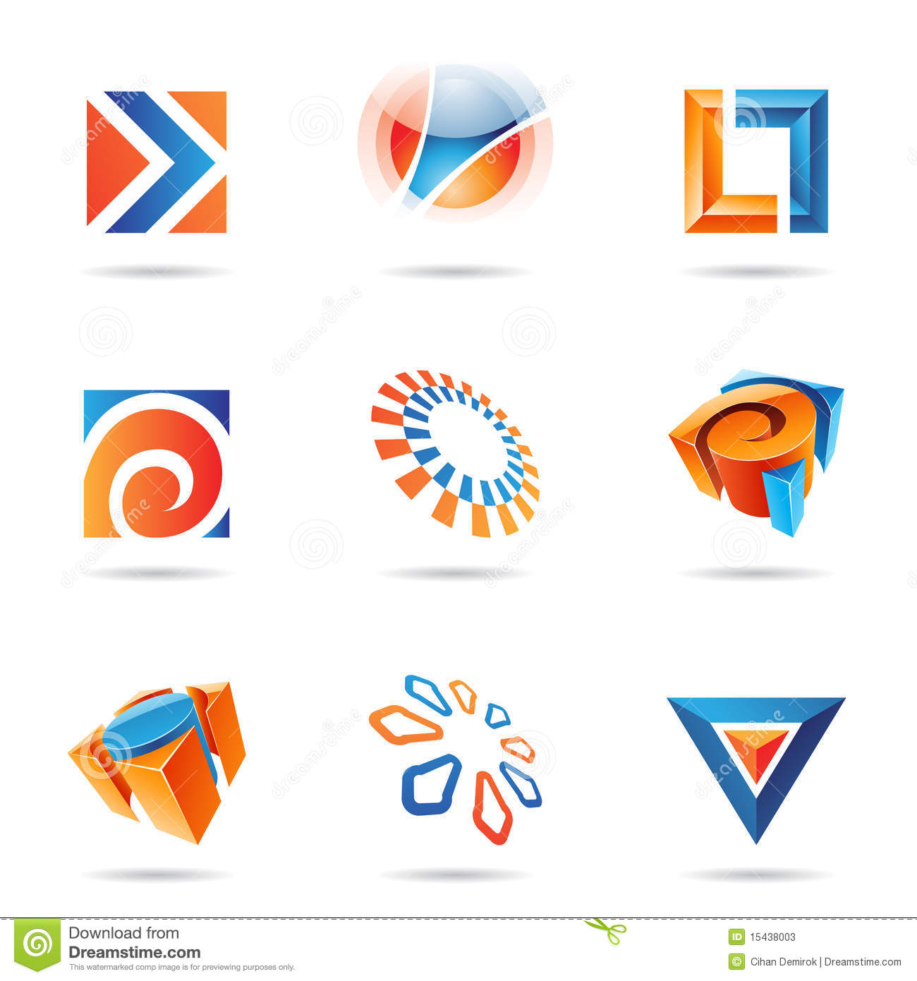 Abstract Icon Set 12