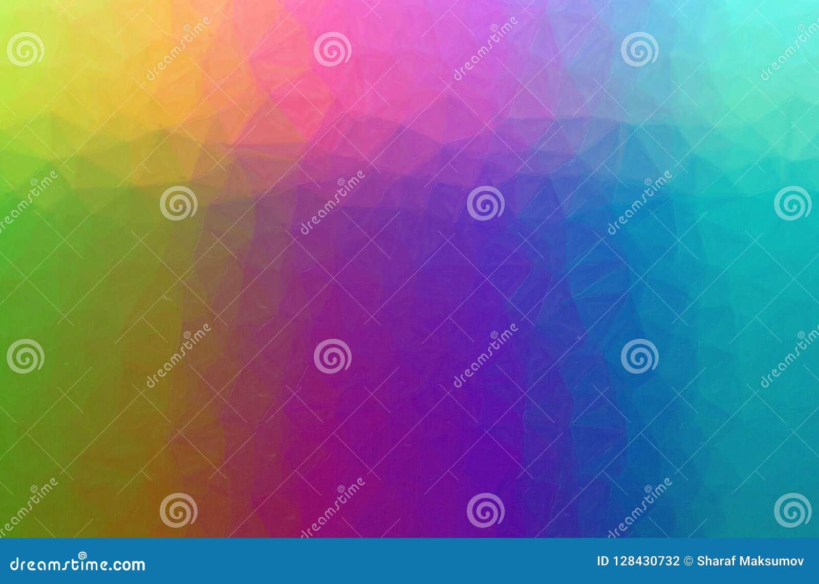 Oil Pastel Violet Green
