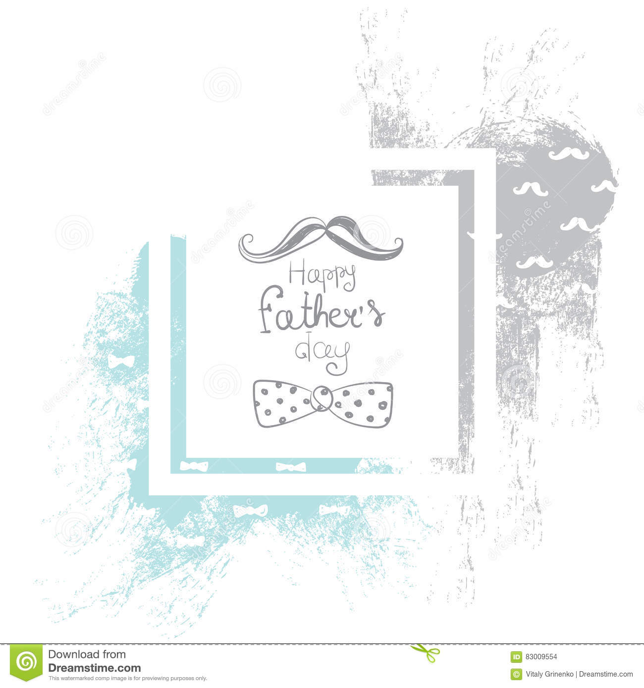 Abstract Illustration For Postcards And Banners. Ready-made Design ...