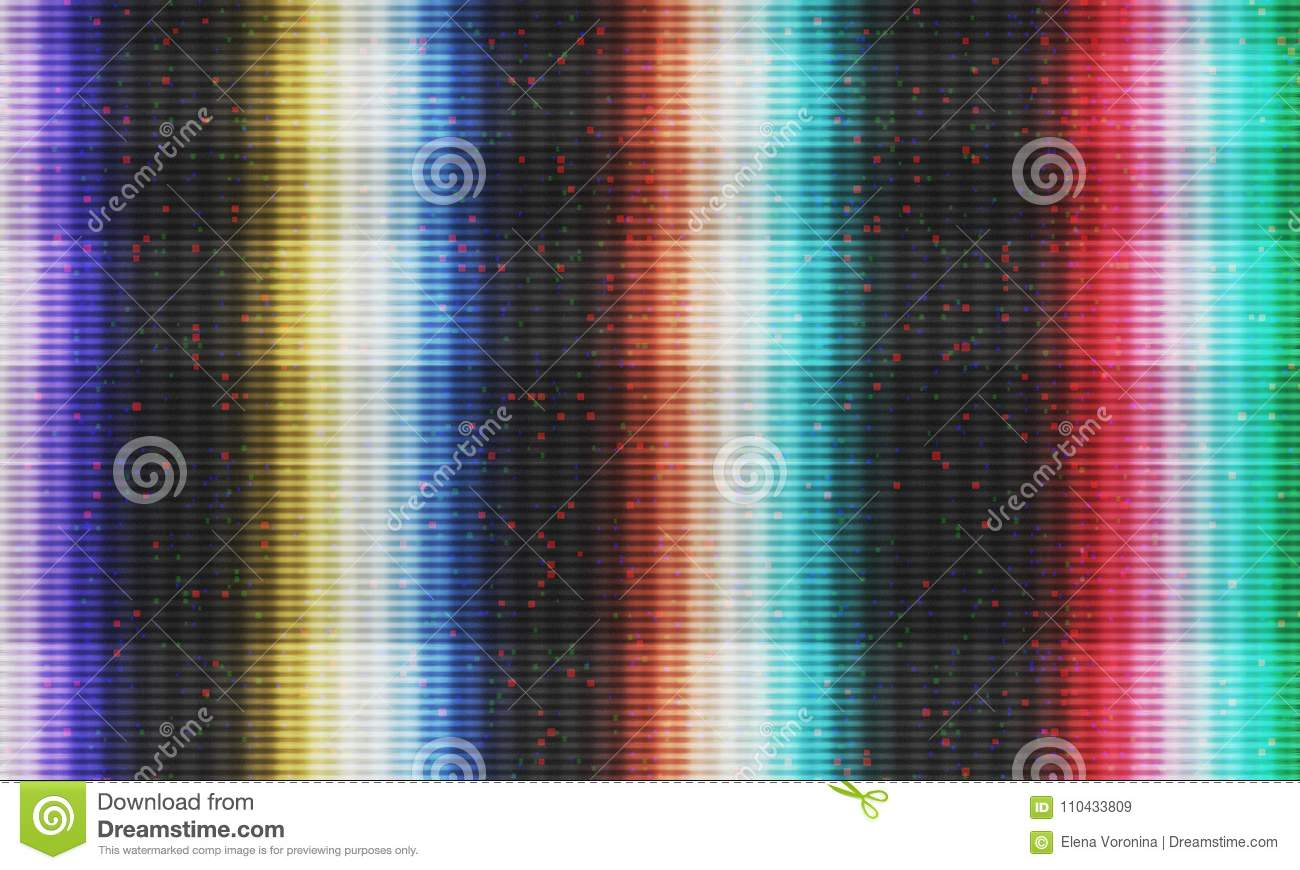 Glitch effect background stock illustration  Illustration of