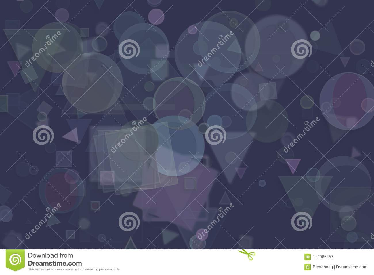 Abstract illustrations of shape, conceptual background. Pattern, fashion, decoration, backdrop & surface.