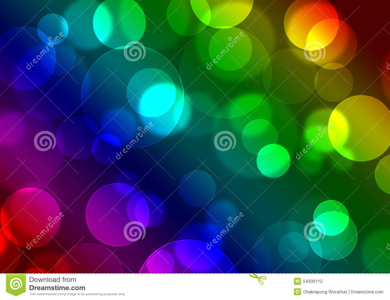 Colorful And Vivid Stage Spotlight Background Editorial